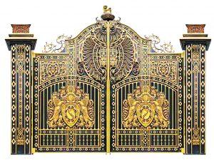Công nghệ sản xuất cổng đúc hợp kim nhôm