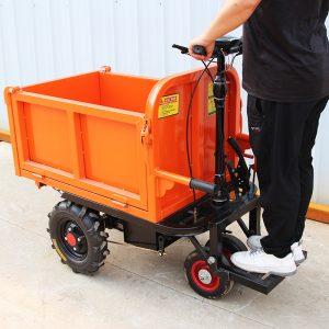 Xe điện chuyên chở vật liệu xây dựng