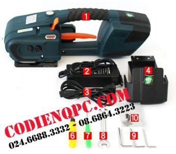máy rút dây đai tự động dùng pin qp01