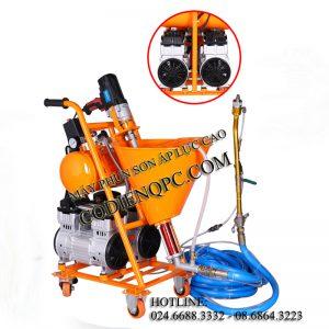 Máy phun sơn áp lực cao 2 động cơ