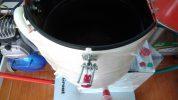 Bơm vữa grout bằng điện khí nén