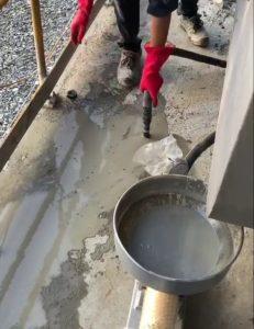 Bơm chống thấm hầm ngầm